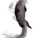 « Sumi-e Otter » par Threeleaves