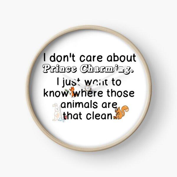 ANIMALS THAT CLEAN Clock