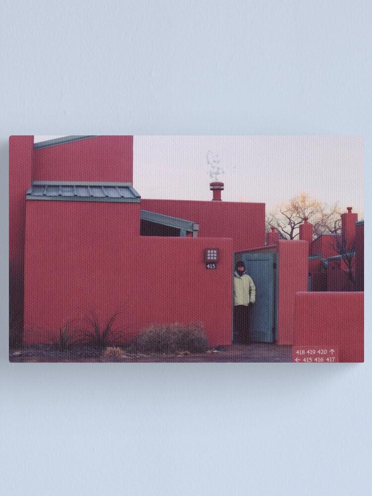 Alternate view of Santa Fe, New Mexico in Winter Canvas Print
