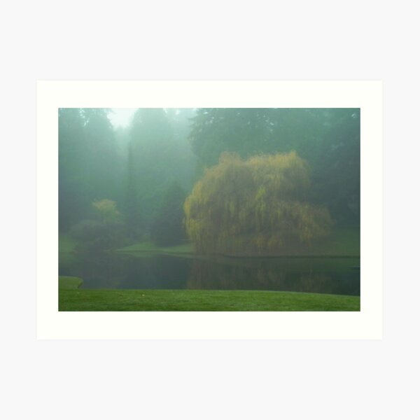 Puget Sound - Mists of Autumn Art Print