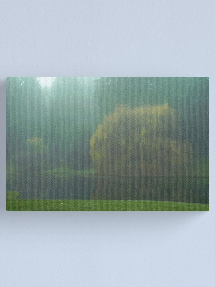 Alternate view of Puget Sound - Mists of Autumn Canvas Print