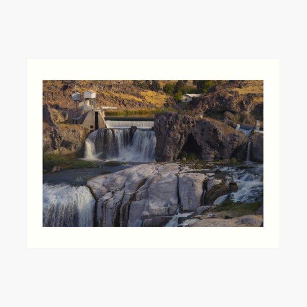 Shoshone Falls, Idaho Art Print