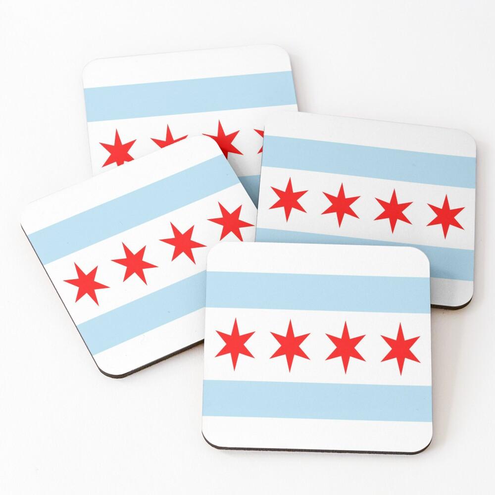 Chicago (Illinois) Coasters (Set of 4)