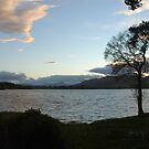 Evening Sky Over Lake of Menteith by HikerDebs