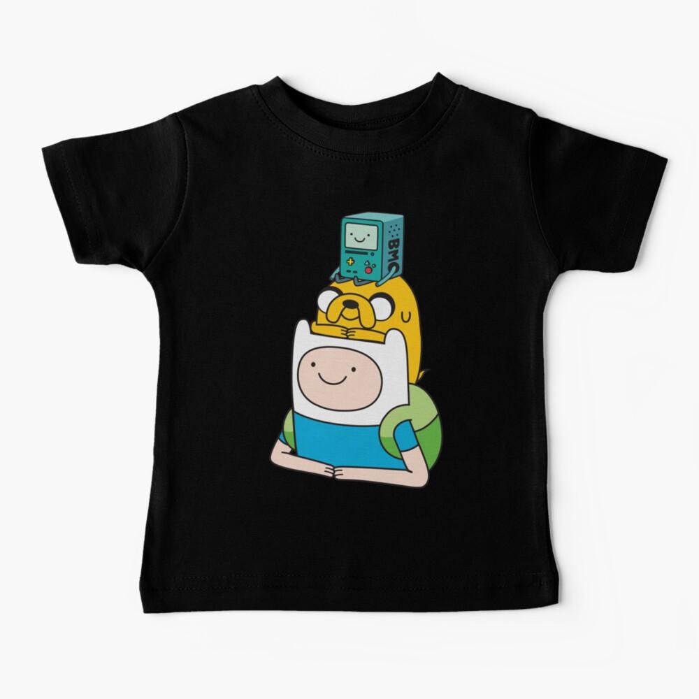 Finn Jake BMO Baby T-Shirt