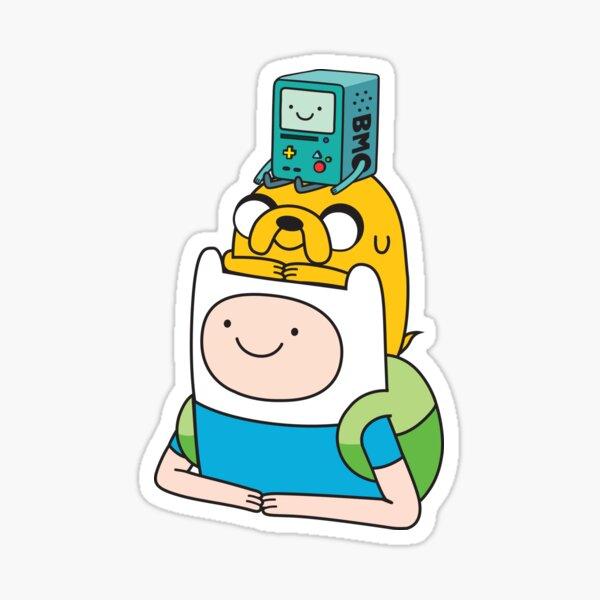 Jake y BMO de AdventureTime ™. Pegatina