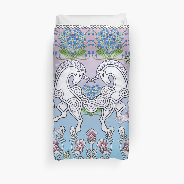 You are my courage and my heart - Unicorn Design Duvet Cover
