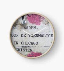 Urban poetry Clock