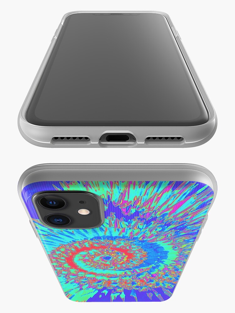Alternate view of Pop Art Nautilus Fractal iPhone Case & Cover