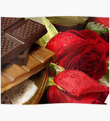 Chocolate Romance Poster