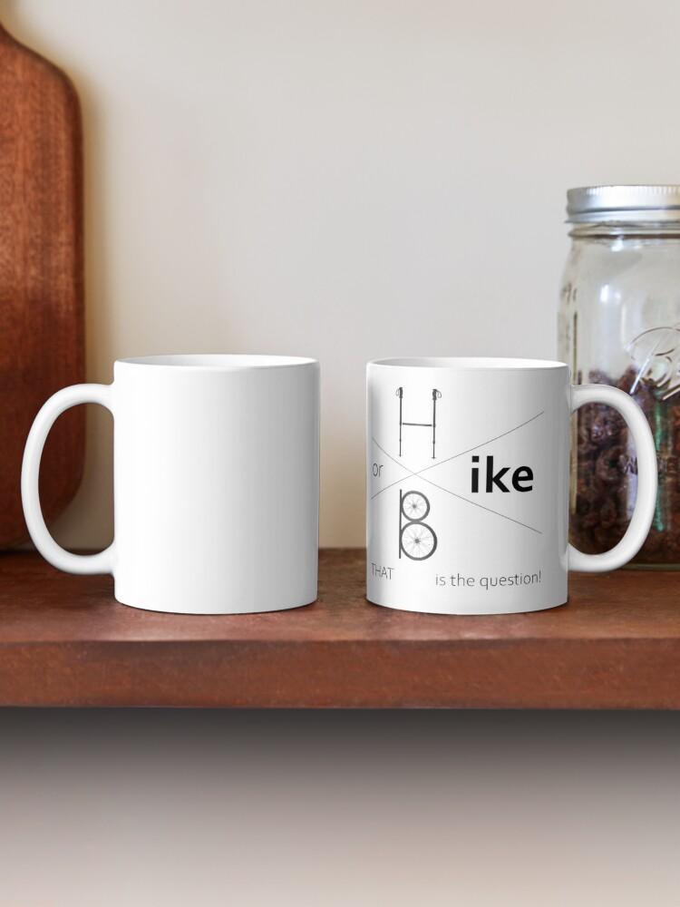 Alternate view of Hike or bike Mug