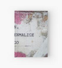 Urban poetry Hardcover Journal