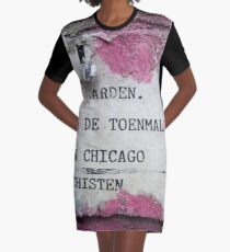 Urban poetry Graphic T-Shirt Dress