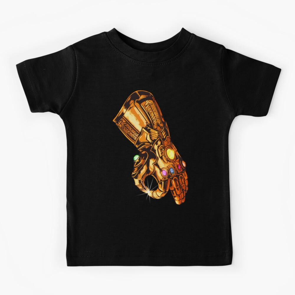 Infinity Gauntlet - Circle Game Kids T-Shirt