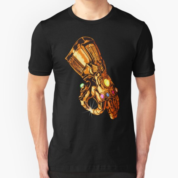 Infinity Gauntlet - Kreisspiel Slim Fit T-Shirt