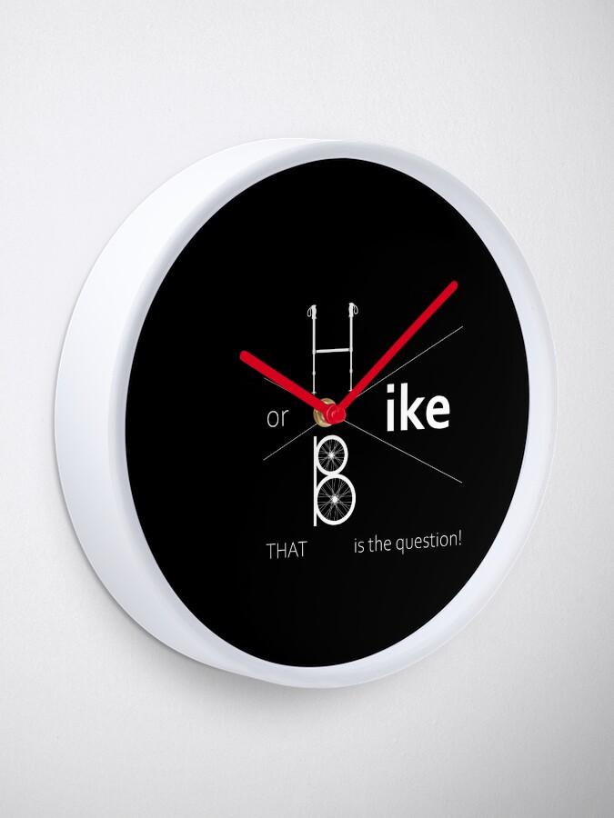 Alternate view of Hike or bike Clock