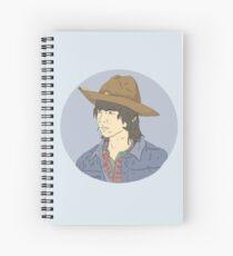 Carl Grimes Spiral Notebook