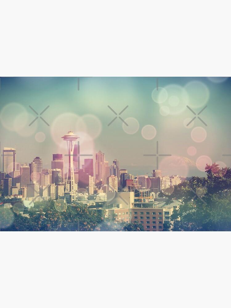 Dreamy Seattle Skyline by stine1