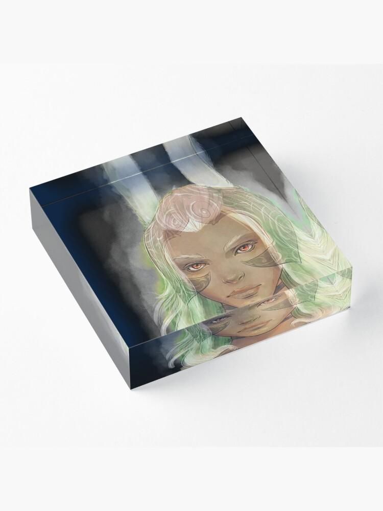 Alternate view of Fran Acrylic Block