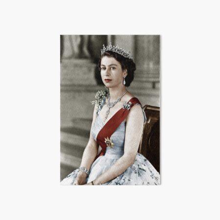 Queen Elizabeth Art Board Print