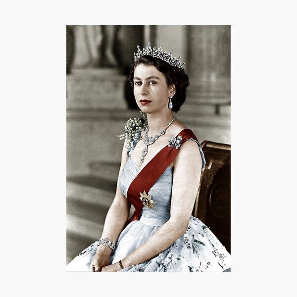 Queen Elizabeth Photographic Print