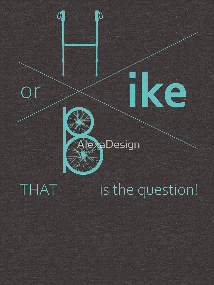 Hike or bike by AlexaDesign