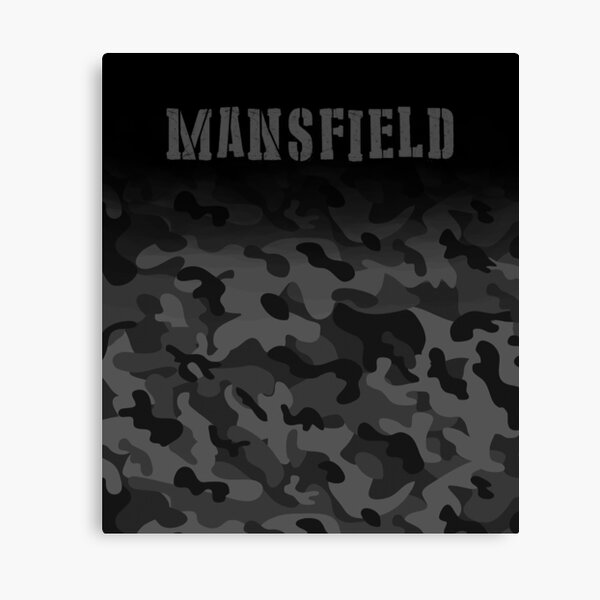 Mansfield England Army Military Camouflage soldier  Canvas Print