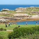 Golf at the Bay by Michael John