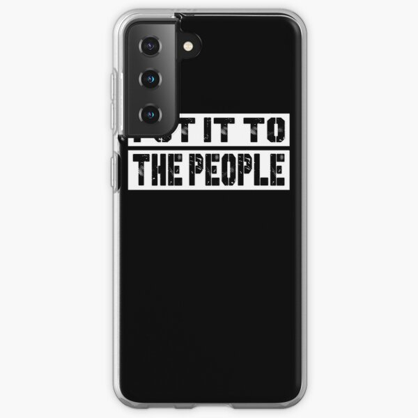 Put It to the People Anti Brexit. March To Demand Peoples Vote. Samsung Galaxy Soft Case