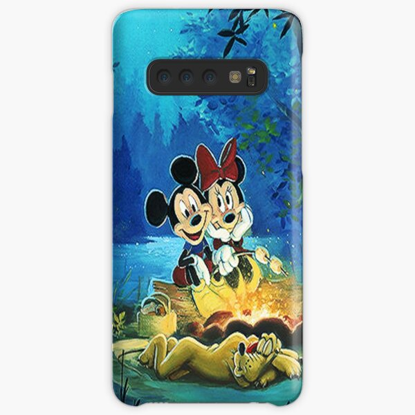 camp fire  Samsung Galaxy Snap Case