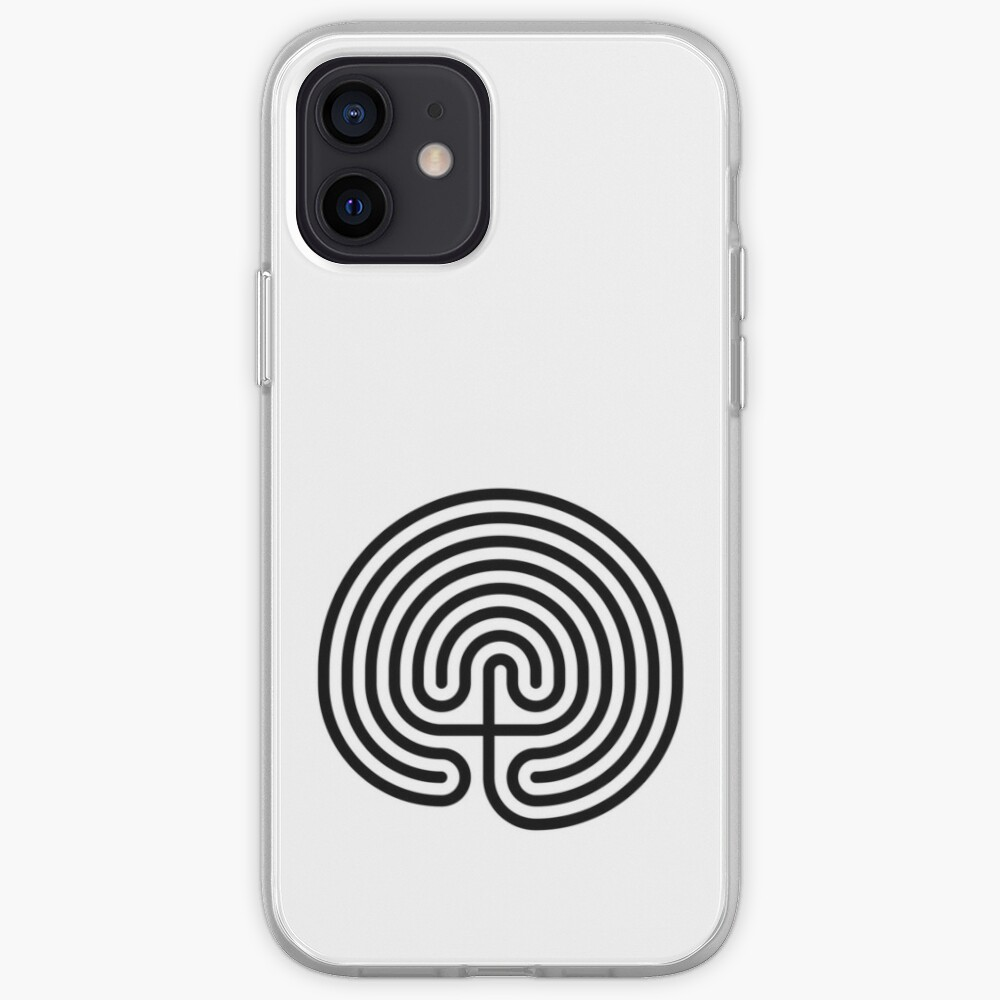 #Cretan, #labyrinth, Cretanlabyrinth iPhone Case & Cover