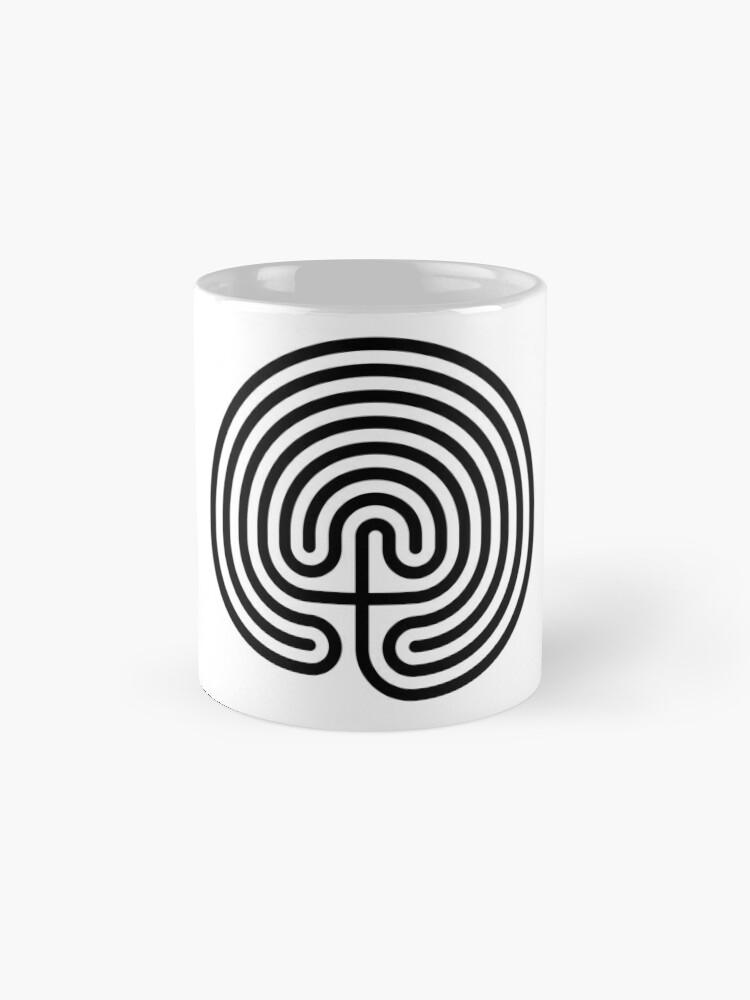 Alternate view of #Cretan, #labyrinth, Cretanlabyrinth Mug
