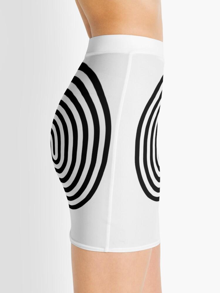 Alternate view of #Cretan, #labyrinth, Cretanlabyrinth Mini Skirt