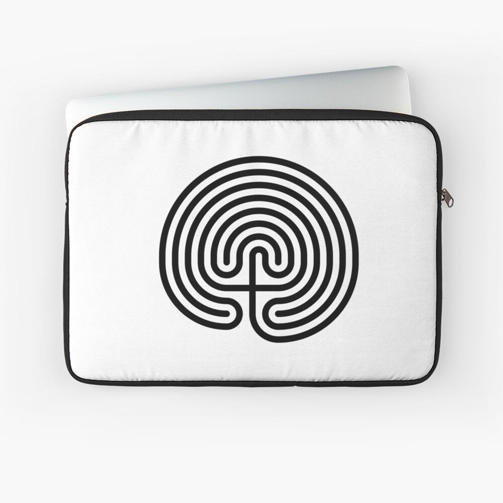 #Cretan, #labyrinth, Cretanlabyrinth Laptop Sleeve