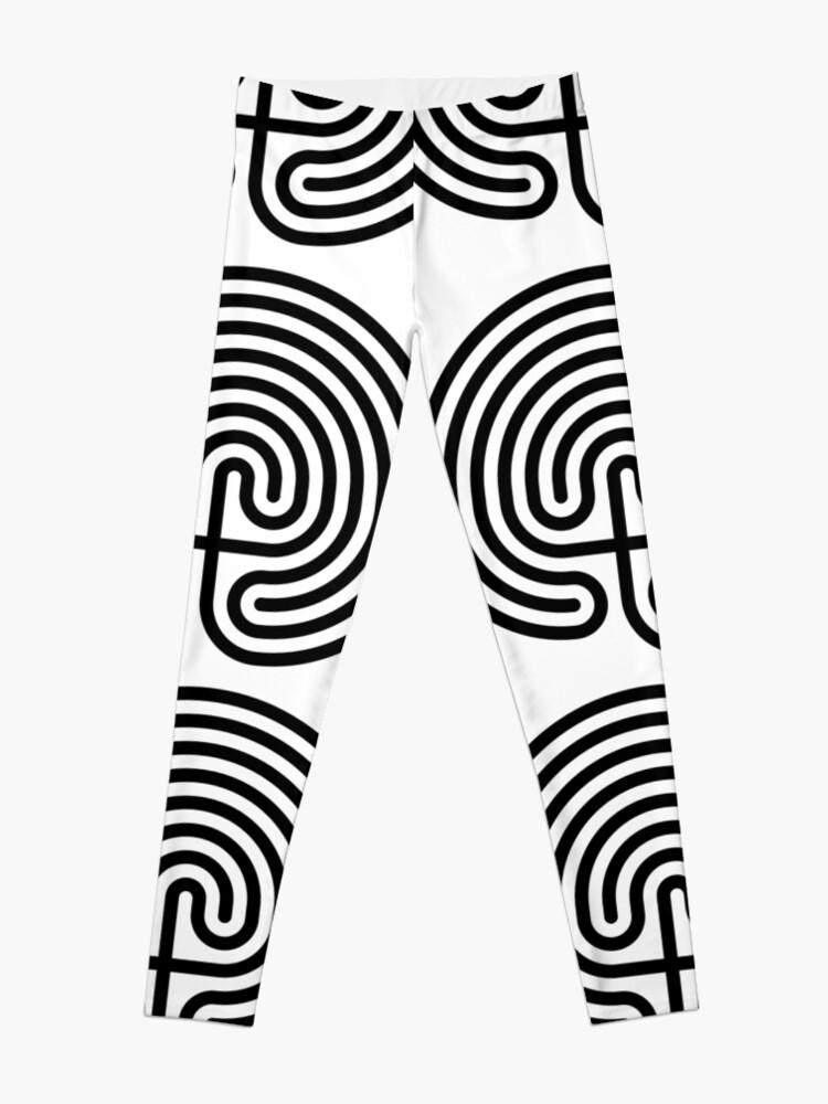 Alternate view of #Cretan, #labyrinth, Cretanlabyrinth Leggings