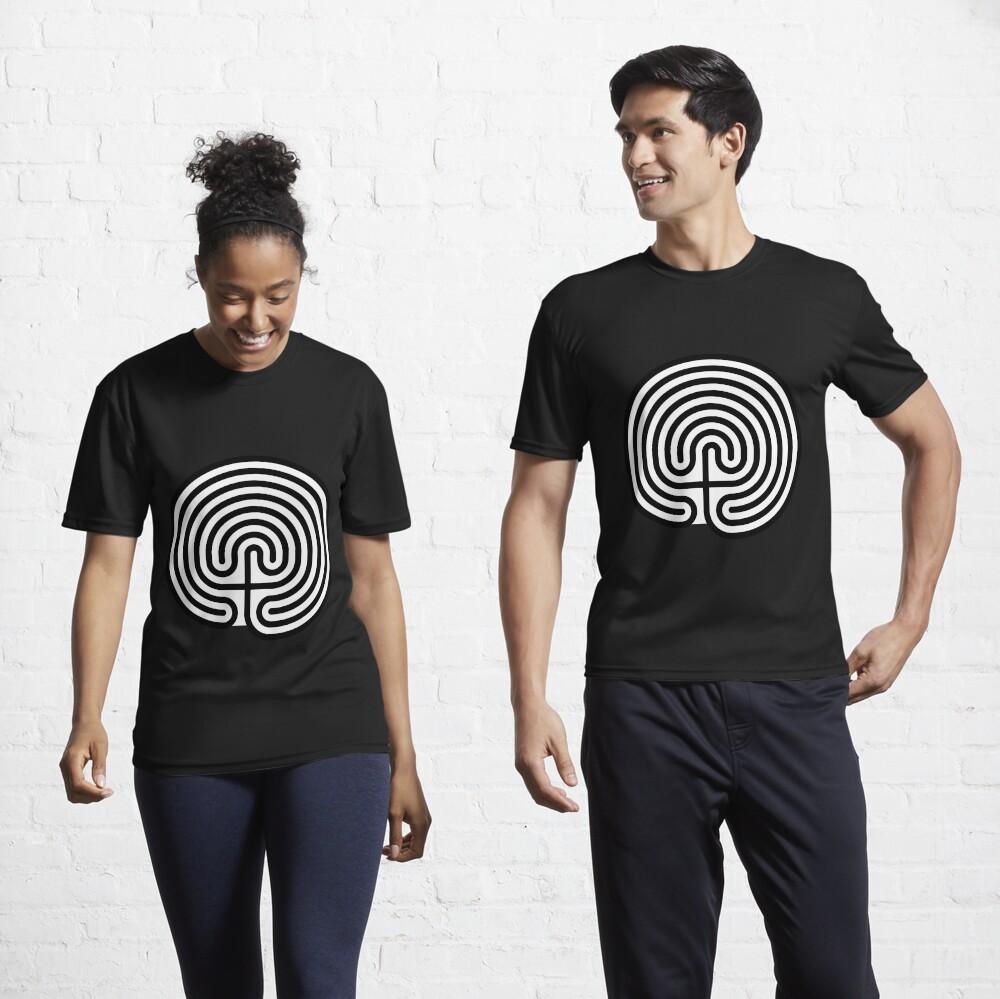 #Cretan, #labyrinth, Cretanlabyrinth Active T-Shirt