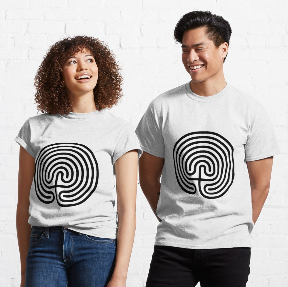 #Cretan, #labyrinth, Cretanlabyrinth Classic T-Shirt
