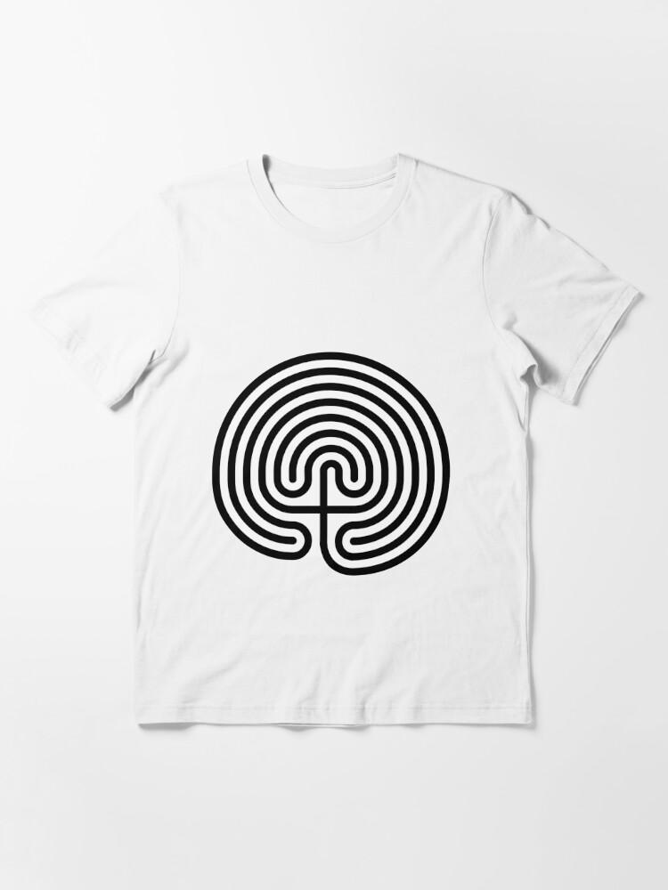 Alternate view of #Cretan, #labyrinth, Cretanlabyrinth Essential T-Shirt