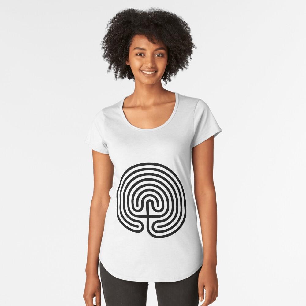 #Cretan, #labyrinth, Cretanlabyrinth Premium Scoop T-Shirt
