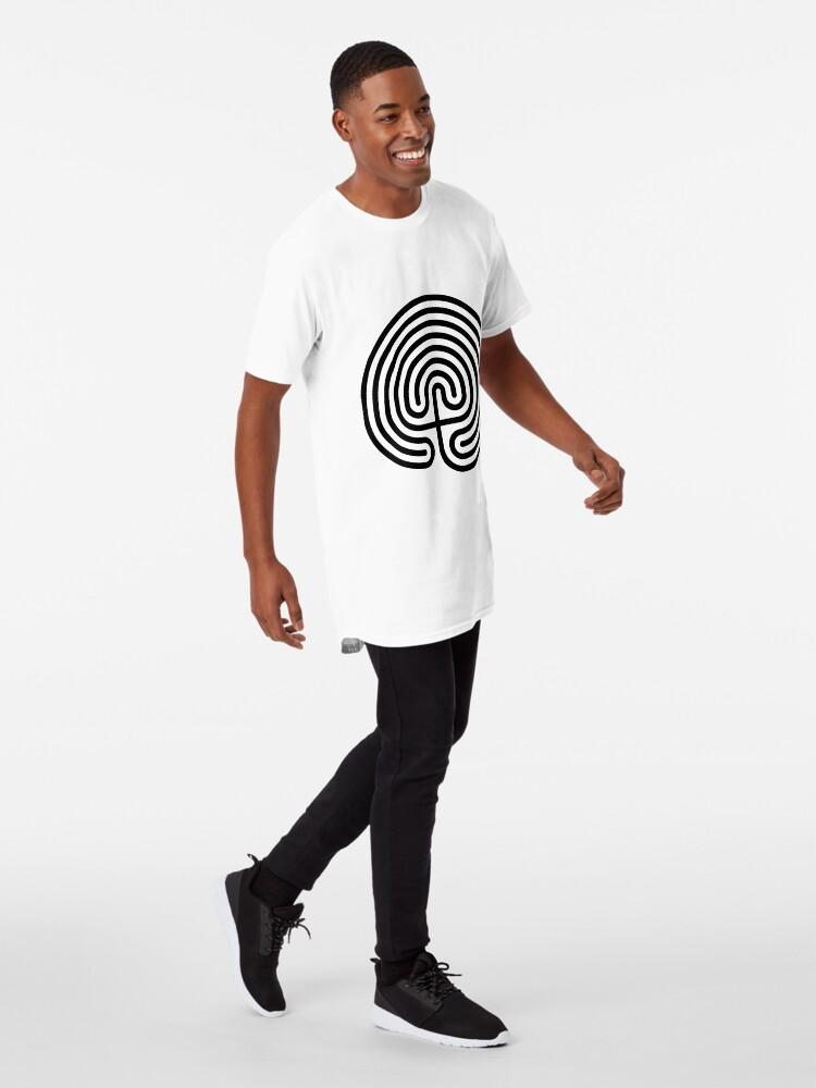 Alternate view of #Cretan, #labyrinth, Cretanlabyrinth Long T-Shirt