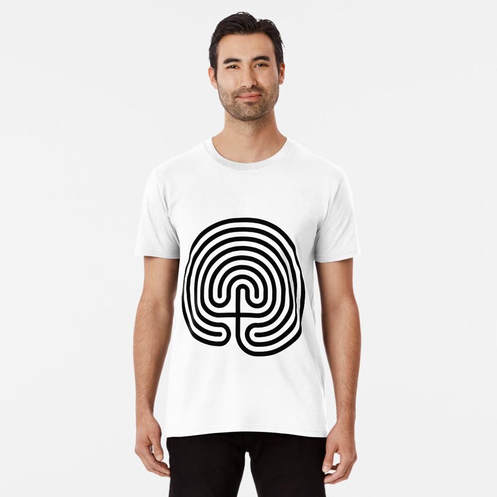 #Cretan, #labyrinth, Cretanlabyrinth Premium T-Shirt