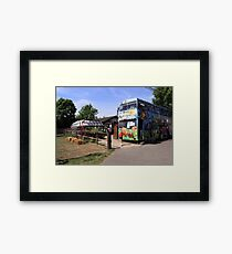 A Day at the Office ;) Framed Print
