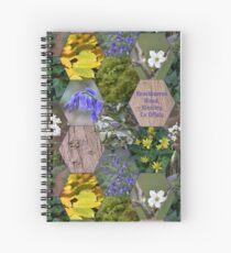 Knockbarron Wood Spiral Notebook