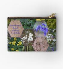 Knockbarron Wood Zipper Pouch