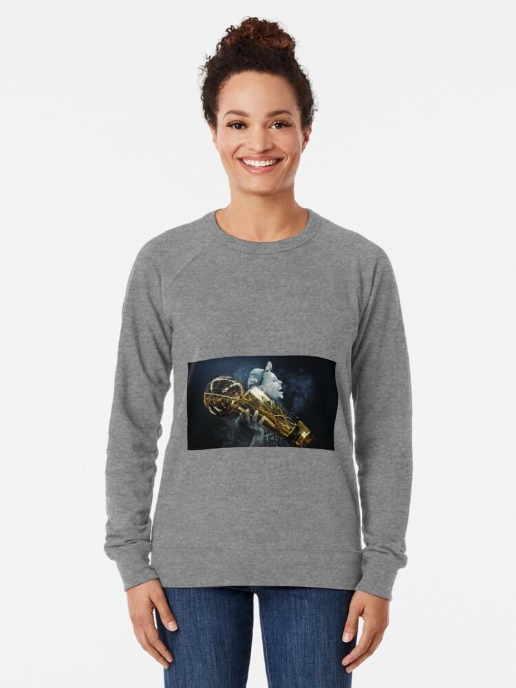 Alternate view of stepen curri basket Lightweight Sweatshirt
