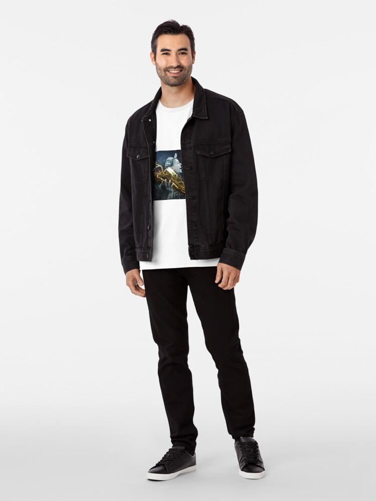 Alternate view of stepen curri basket Premium T-Shirt