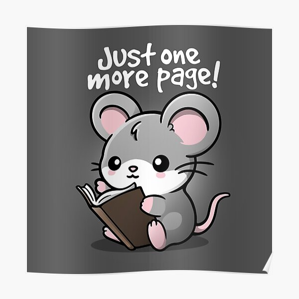 Mouse one more page Poster