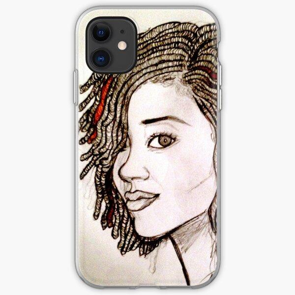 Loc-y Girl iPhone Soft Case