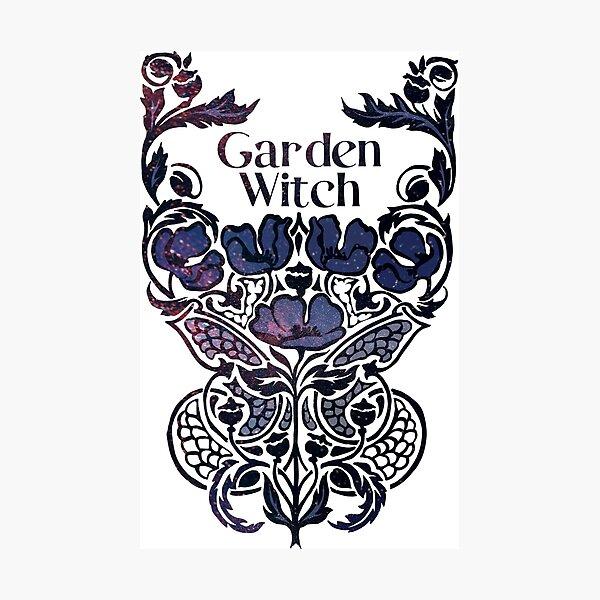 Garden Witch Photographic Print