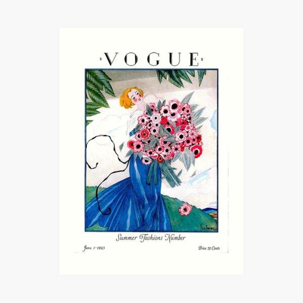 VOGUE : Vintage Spring 1923 Magazine Advertising Print Art Print